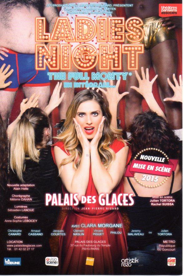 LADIES NIGHT de retour au Palais des Glaces avec une troupe choc ...