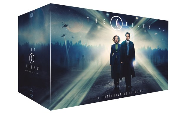 COFFRET 3D THE XFILES BD