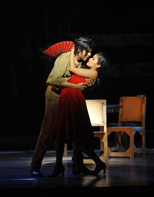 09 - Joel Prieto (José) et Luna Manzanares (Carmen) @ Théâtre du Châtelet - Marie-Noëlle Robert
