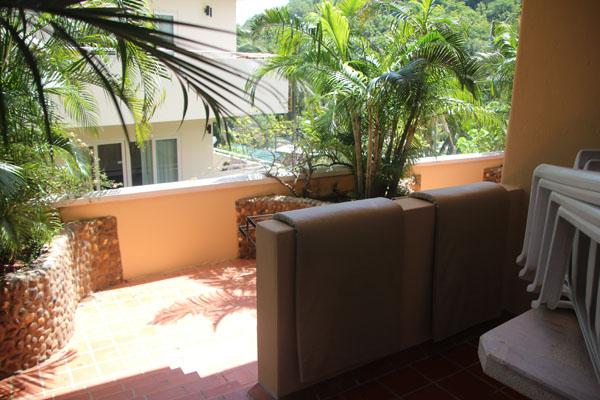 balcony two bedrooms suite