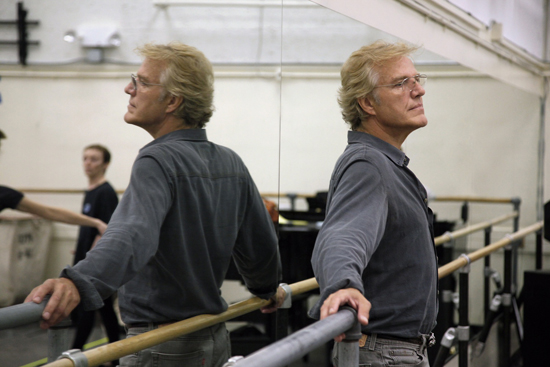 Peter Martins Reh. NYCB New John Adams Ballet Sept. 25, 2009 Credit Photo: ©Paul Kolnik studio@paulkolnik.com