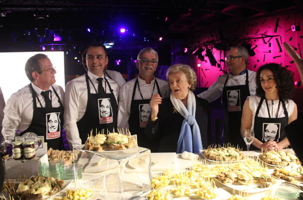 Mme Chirac au satnd de la Correze
