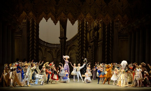 Scene from Alexei Ratmansky's The Sleeping Beauty.  Photo: Gene Schiavone.