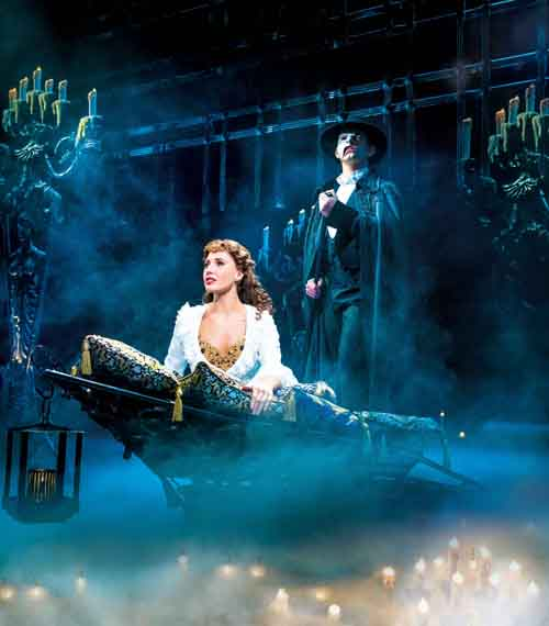 Phantom of the Opera, Londres, 2015, Credit: Johan Persson