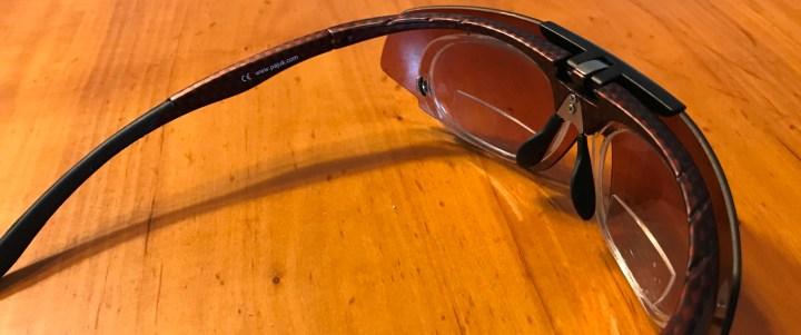 Een leesbril voor het hardlopen