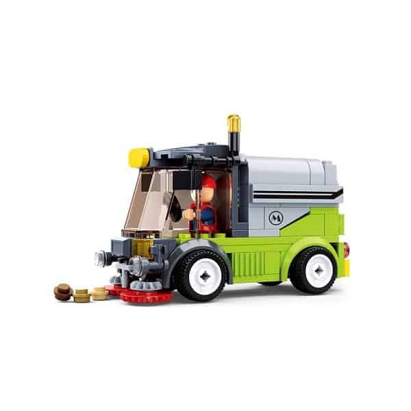 Jongensspeelgoed Sluban Veegwagen