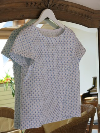 Blouse Burda #115 04/2014 - on sunday mornings