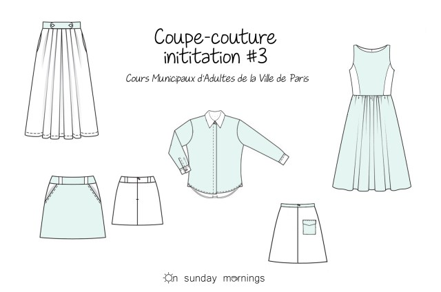 Cours municipaux d'adultes - CMA Coupe couture initiation - onsundaymornings