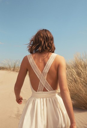 Robe Sessun enamorada antic white