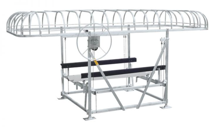 Bertrand Ontario Boat Lift Canopy for keeping your boat