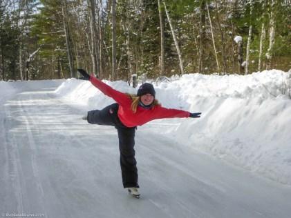 Ice Skating Arrowhead Provincial Park