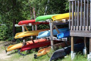 Rushing River Provincial Park Kayaks for rent