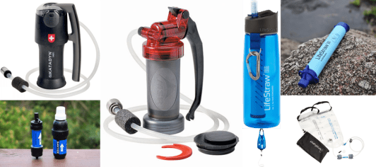 Best water filters for backcountry camping