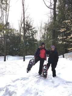 Snowshoeing at Silent Lake PP