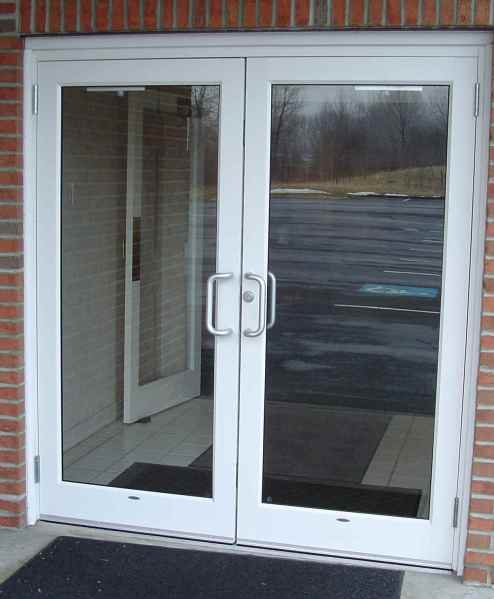 Aluminum Glass Doors Repair