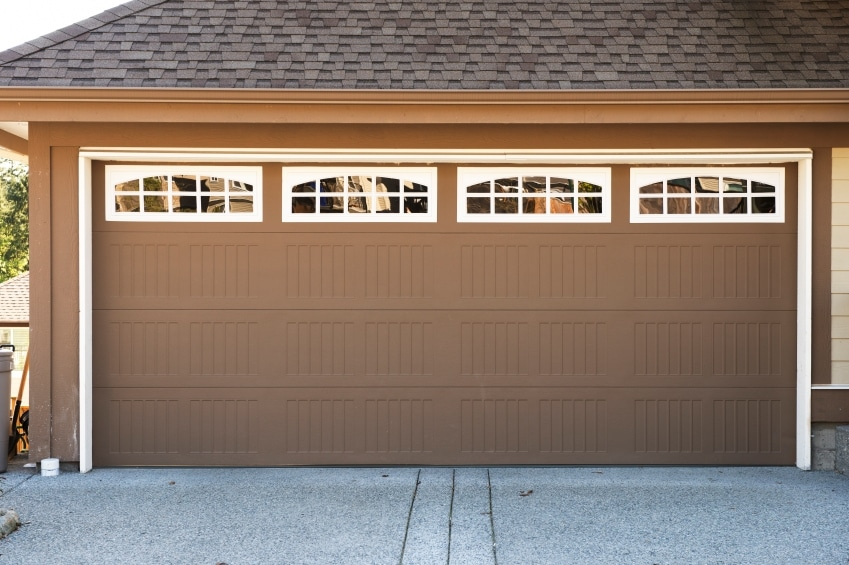 Brown Garage Door in Scarborough