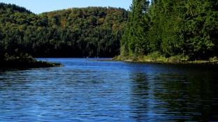 An Algonquin Park river mouth.