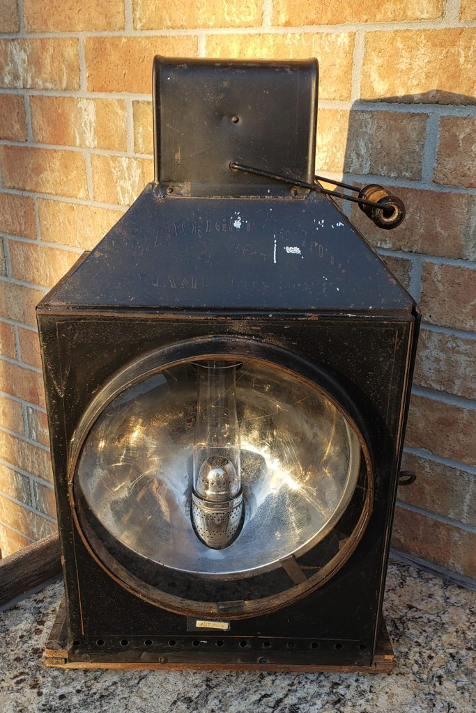 Wright Traction Engine Headlight