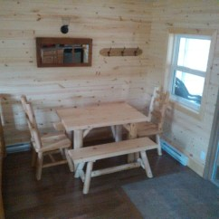 Directors Chairs Golden Power Chair Roofed Accommodation At Ontario Parks