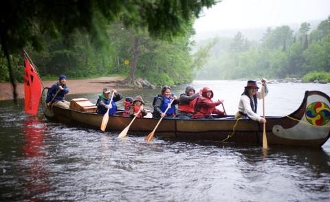 Voyageur Canoe Tour Program at Samuel de ChamplainPP