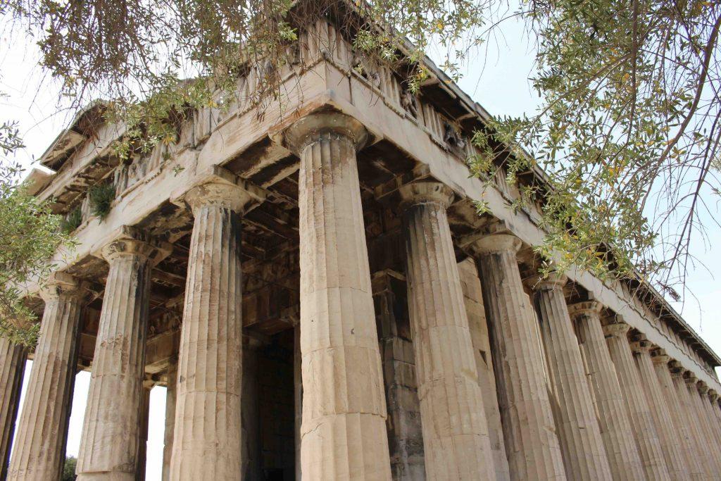 Acropolis Athene excursie vanaf Evia Griekenland