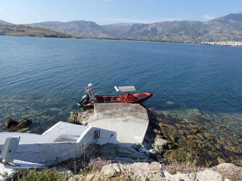 Snorkelboottocht Zuid Evia Griekenland
