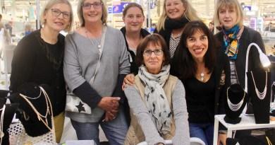 7 créatrices exposent dans la galerie de Carrefour, à Amiens