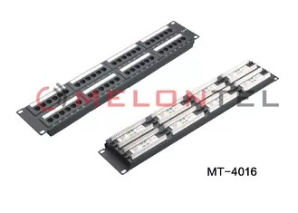 48 Port Cat6 RJ45 Network Patch Panel Wall Mount For 3M