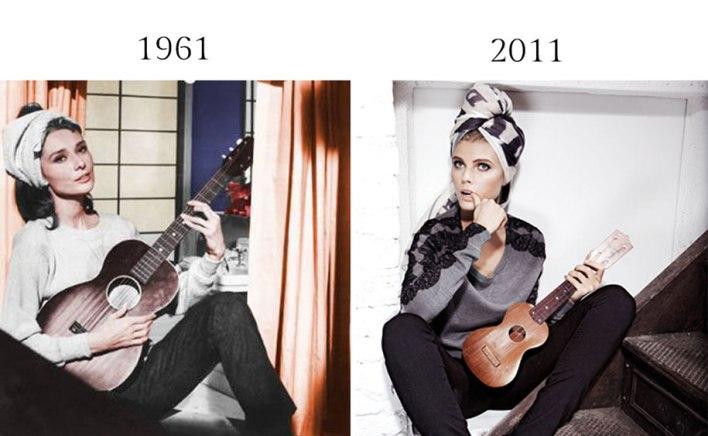 التشابه في تصوير الموضة 13