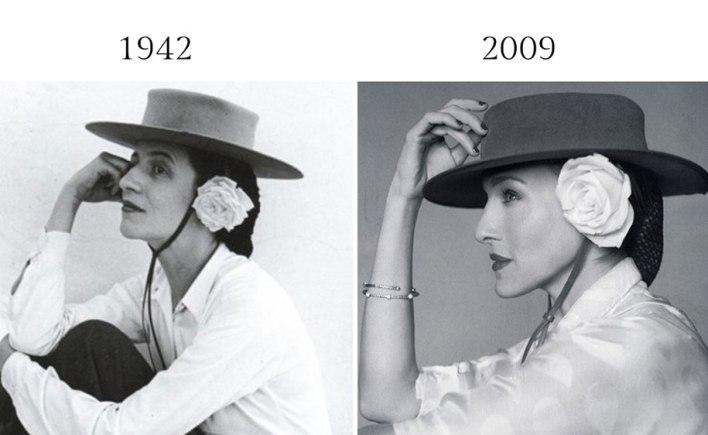 التشابه في تصوير الموضة 17