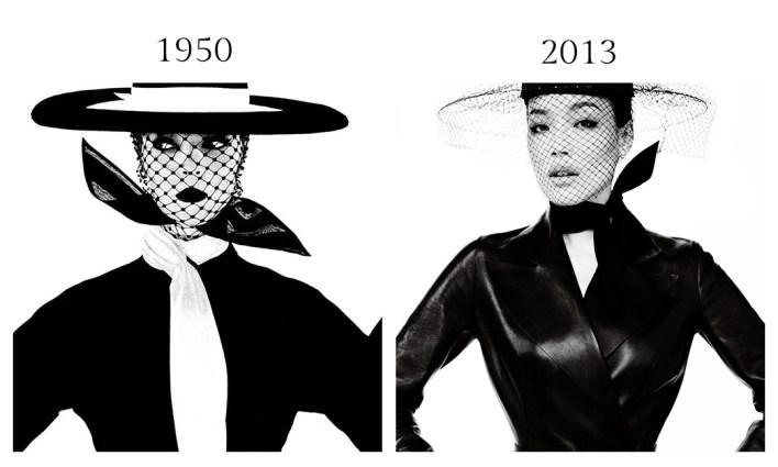 التشابه في تصوير الموضة 20