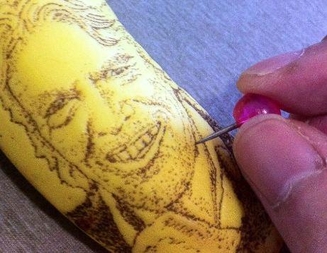 الرسم على الموز 12