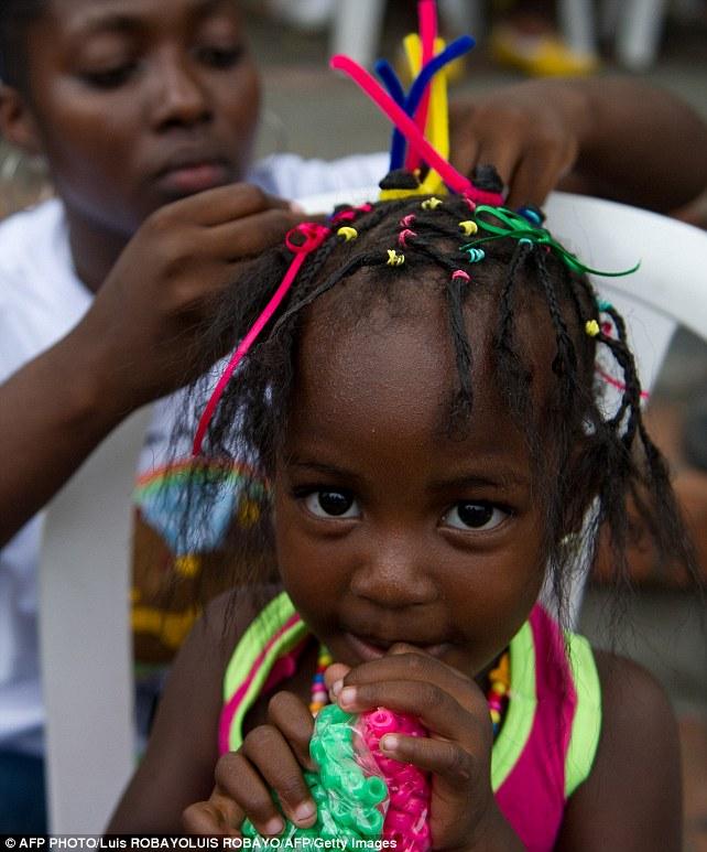 المسابقة السنوية لتسريحات الشعر الافريقية  2