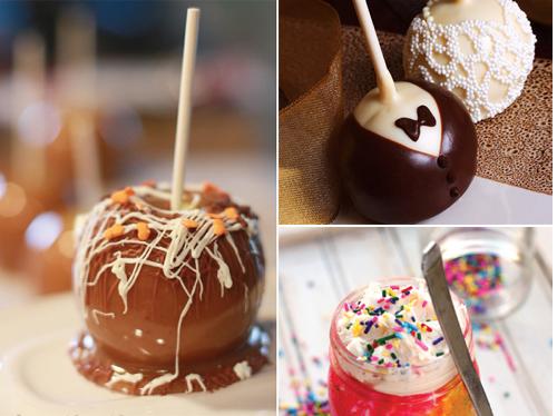 حلويات بأشكال مبتكرة لحفلات الزفاف 2