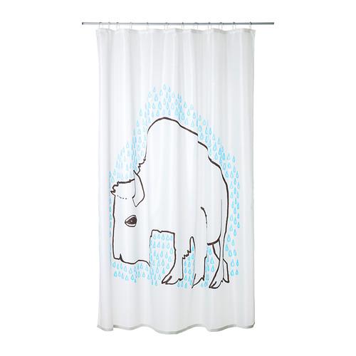 زيني حمام منزلك بستائر الدوش المميزة من إيكيا - IKEA (4)