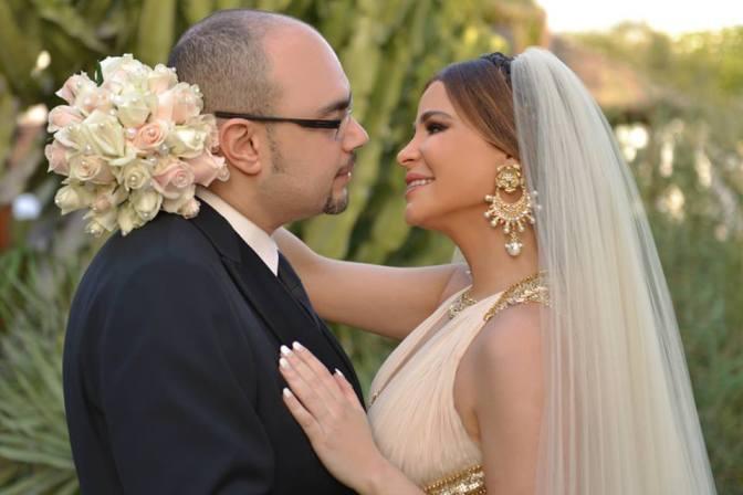 صور زفاف كارول سماحة