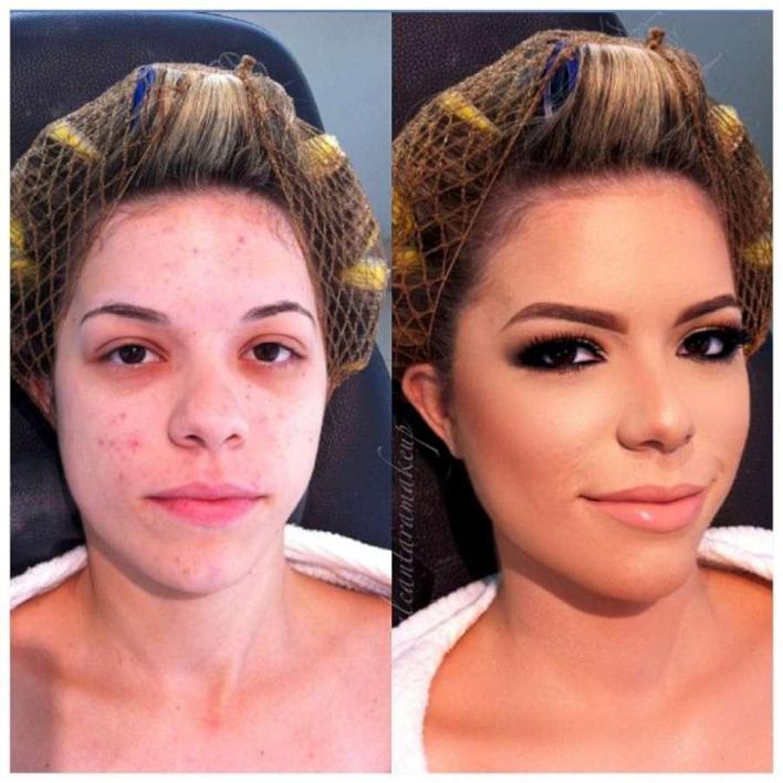 صور مذهلة قبل وبعد المكياج لخبير التجميل البرازيلي Alcantara 2