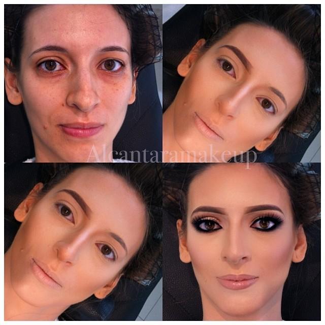 صور مذهلة قبل وبعد المكياج لخبير التجميل البرازيلي Alcantara 5