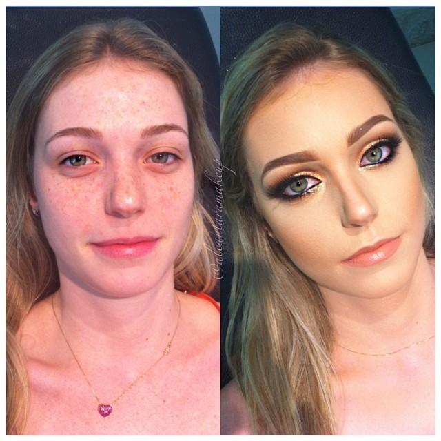 صور مذهلة قبل وبعد المكياج لخبير التجميل البرازيلي Alcantara 7