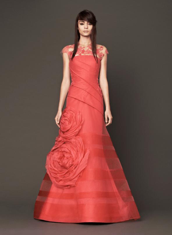 فساتين زفاف وردية 17