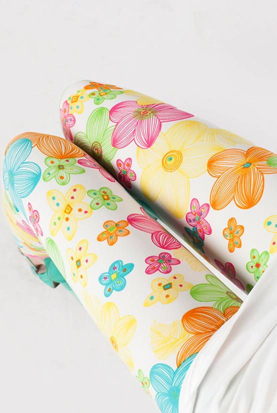 فيزونات  ليجيز  الورود الربيعية الملونة (2)