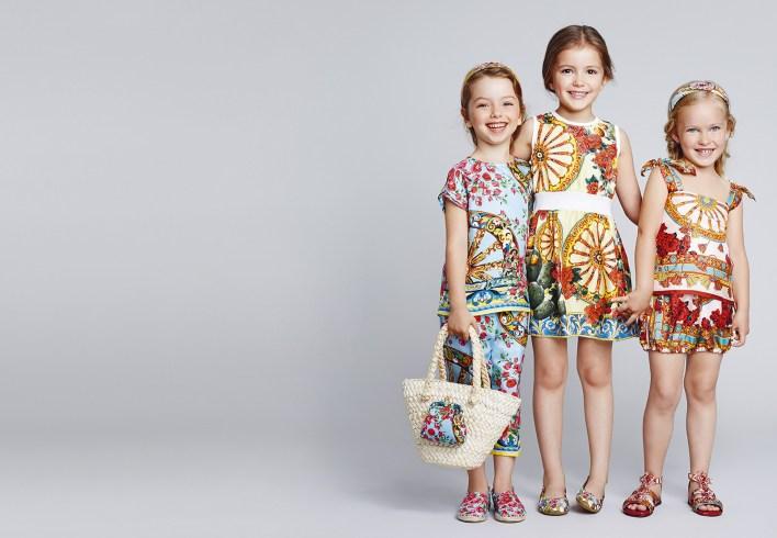 مجموعة ملابس فاكهه الصيف الآسيوية للفتيات من D&G (4)