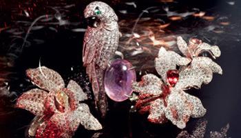 من أجمل تصاميم المجوهرات الفرنسية ! مجموعة زهرة الأوركيدة (2)