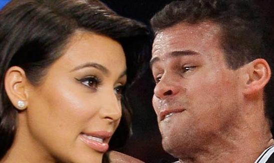 كيم كرداشيان وجهاً لوجه مع زوجها