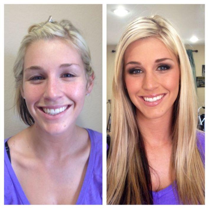 المكياج يصنع المعجزات ! 20 صورة لنساء قبل و بعد المكياج (11)