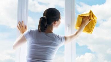 تلميع النوافذ