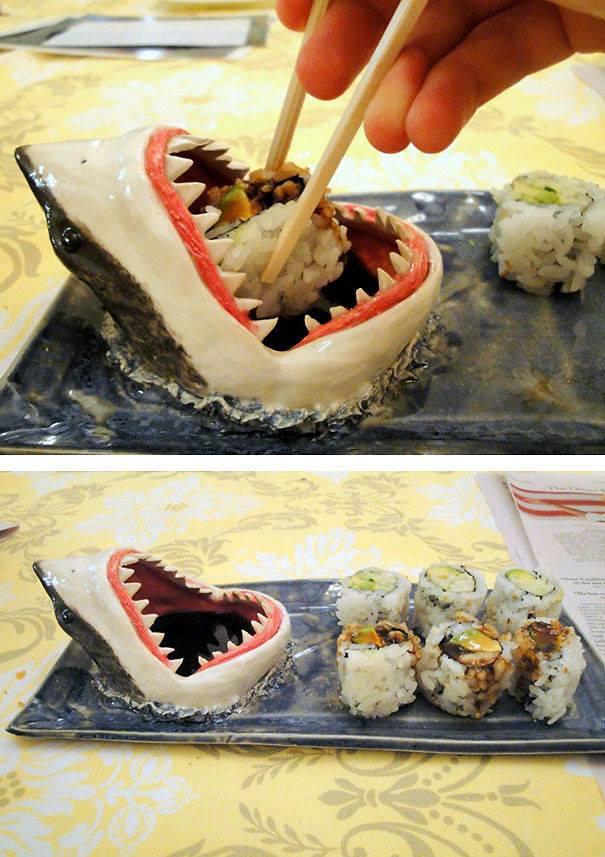 صحن القرش