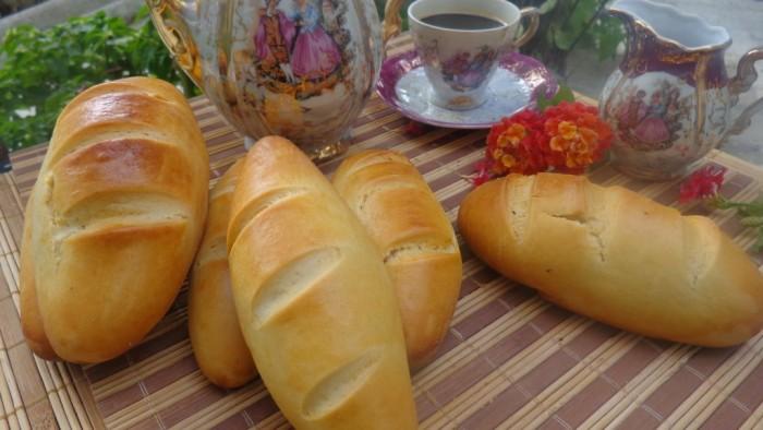 الخبز الفرنسي مع الحليب 4