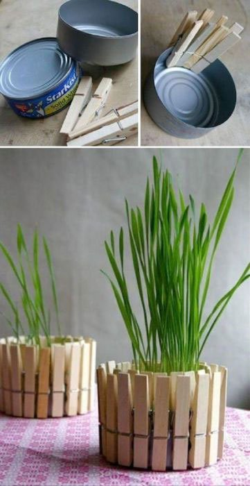 ديكور حاملة نباتات