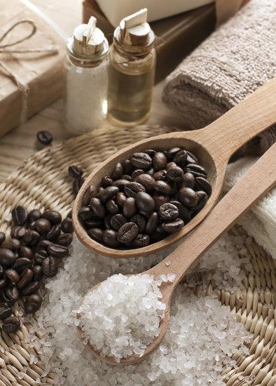 قهوة و سكر بني
